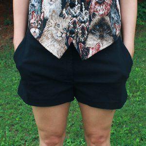 Express Black Stretch Shorts